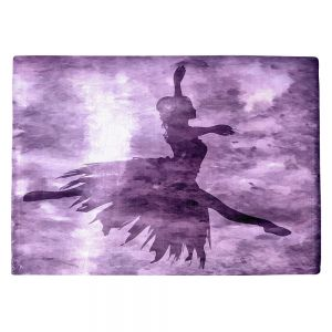 Countertop Place Mats | Angelina Vick - Learning The Steps 6 | silhouette ballerina dancer