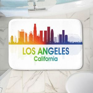 Decorative Bathroom Mats | Angelina Vick - City I Los Angeles California