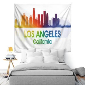 Artistic Wall Tapestry | Angelina Vick - City I Los Angeles California