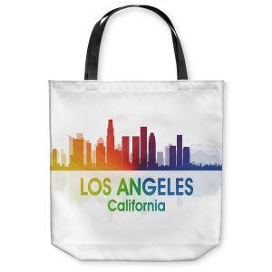 Unique Shoulder Bag Tote Bags   Angelina Vick - City I Los Angeles California