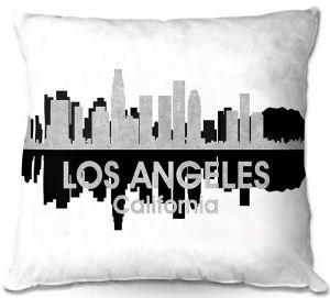 Throw Pillows Decorative Artistic   Angelina Vick - City IV Los Angeles California