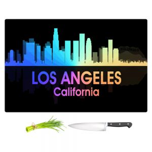 Artistic Kitchen Bar Cutting Boards | Angelina Vick - City V Los Angeles California