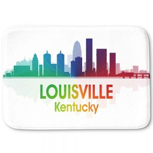 Decorative Bathroom Mats | Angelina Vick - City I Louisville Kentucky