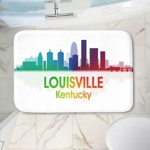 Decorative Bathroom Mats   Angelina Vick - City I Louisville Kentucky