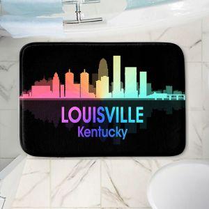 Decorative Bathroom Mats   Angelina Vick - City V Louisville Kentucky