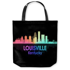 Unique Shoulder Bag Tote Bags | Angelina Vick - City V Louisville Kentucky