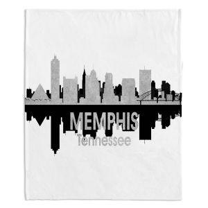 Decorative Fleece Throw Blankets | Angelina Vick - City IV Memphis Tennessee