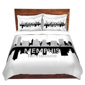 Artistic Duvet Covers and Shams Bedding | Angelina Vick - City IV Memphis Tennessee