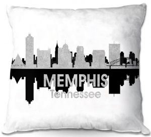 Decorative Outdoor Patio Pillow Cushion | Angelina Vick - City IV Memphis Tennessee
