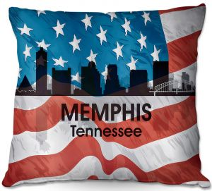 Decorative Outdoor Patio Pillow Cushion | Angelina Vick - City VI Memphis Tennessee