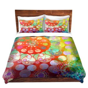 Artistic Duvet Covers and Shams Bedding | Angelina Vick - Merry Go Round Spinning