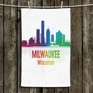 Unique Bathroom Towels | Angelina Vick - City I Milwaukee Wisconsin
