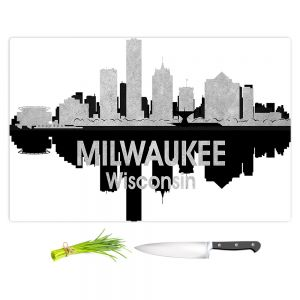 Artistic Kitchen Bar Cutting Boards | Angelina Vick - City IV Milwaukee Wisconsin