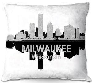 Throw Pillows Decorative Artistic   Angelina Vick - City IV Milwaukee Wisconsin