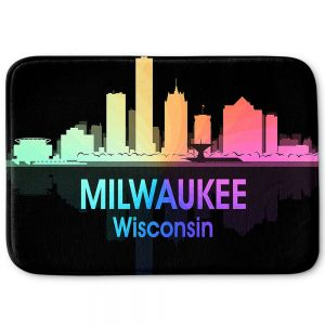 Decorative Bathroom Mats | Angelina Vick - City V Milwaukee Wisconsin