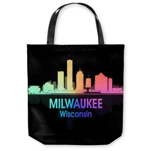 Unique Shoulder Bag Tote Bags | Angelina Vick - City V Milwaukee Wisconsin