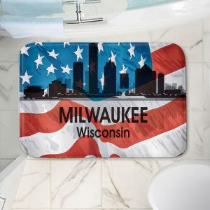 Decorative Bathroom Mats | Angelina Vick - City VI Milwaukee Wisconsin