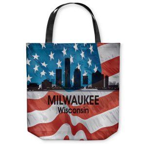 Unique Shoulder Bag Tote Bags  Angelina Vick - City VI Milwaukee Wisconsin