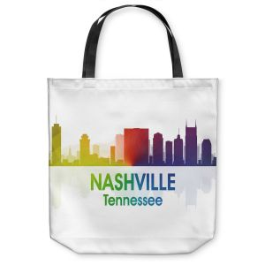 Unique Shoulder Bag Tote Bags | Angelina Vick - City I Nashville Tennessee