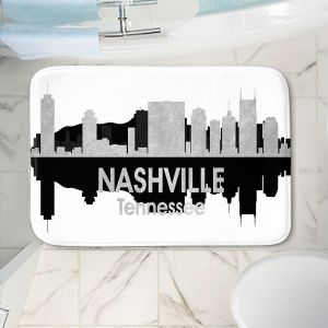 Decorative Bathroom Mats   Angelina Vick - City IV Nashville Tennessee