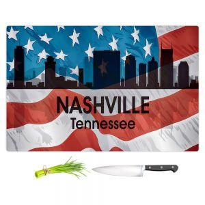 Artistic Kitchen Bar Cutting Boards | Angelina Vick - City VI Nashville Tennessee