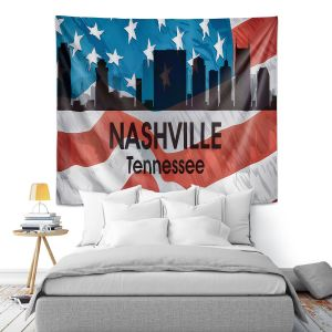 Artistic Wall Tapestry | Angelina Vick - City VI Nashville Tennessee