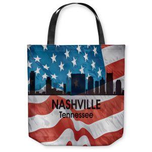 Unique Shoulder Bag Tote Bags  Angelina Vick - City VI Nashville Tennessee