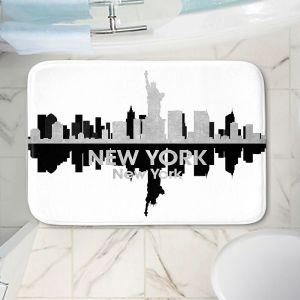 Decorative Bathroom Mats   Angelina Vick - City IV New York New York