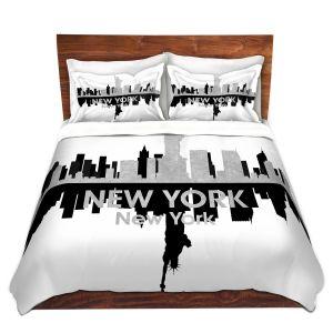 Artistic Duvet Covers and Shams Bedding | Angelina Vick - City IV New York New York