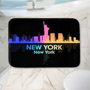 Decorative Bathroom Mats | Angelina Vick - City V New York New York