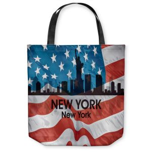 Unique Shoulder Bag Tote Bags |Angelina Vick - City VI New York New York