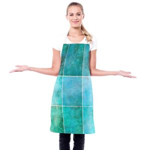 Artistic Bakers Aprons | Angelina Vick - Ocean | Abstract, shapes, rectangle