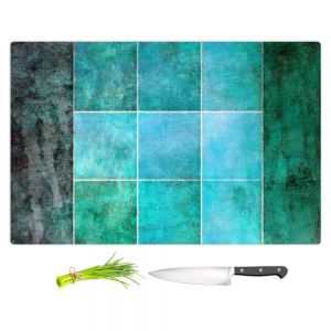 Artistic Kitchen Bar Cutting Boards   Angelina Vick - Ocean   Abstract shapes rectangle
