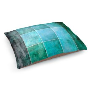 Decorative Dog Pet Beds | Angelina Vick - Ocean | Abstract shapes rectangle