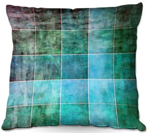 Throw Pillows Decorative Artistic | Angelina Vick - Ocean Shades | Abstract shapes rectangle