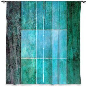 Decorative Window Treatments   Angelina Vick - Ocean   Abstract shapes rectangle