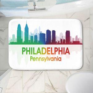 Decorative Bathroom Mats | Angelina Vick - City I Philadelphia Pennsylvania