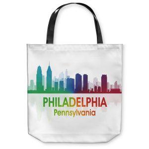 Unique Shoulder Bag Tote Bags   Angelina Vick - City I Philadelphia Pennsylvania