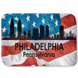 Decorative Bathroom Mats | Angelina Vick - City VI Philadelphia Pennnsylvania