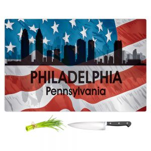 Artistic Kitchen Bar Cutting Boards | Angelina Vick - City VI Philadelphia Pennnsylvania