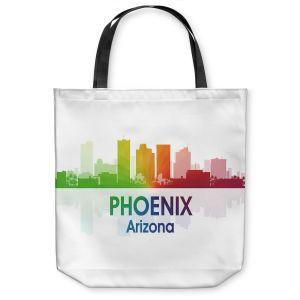 Unique Shoulder Bag Tote Bags   Angelina Vick - City I Phoenix Arizona
