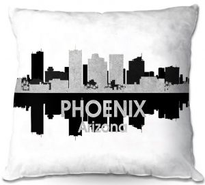 Throw Pillows Decorative Artistic | Angelina Vick - City IV Phoenix Arizona