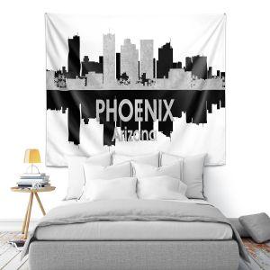 Artistic Wall Tapestry | Angelina Vick - City IV Phoenix Arizona