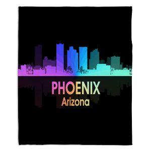 Decorative Fleece Throw Blankets | Angelina Vick - City V Phoenix Arizona