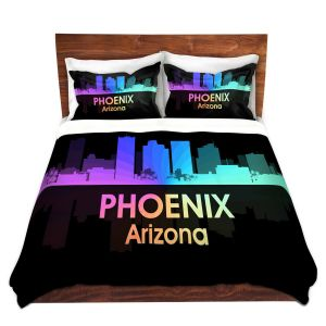Artistic Duvet Covers and Shams Bedding | Angelina Vick - City V Phoenix Arizona