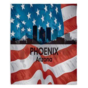 Decorative Fleece Throw Blankets | Angelina Vick - City VI Phoenix Arizona