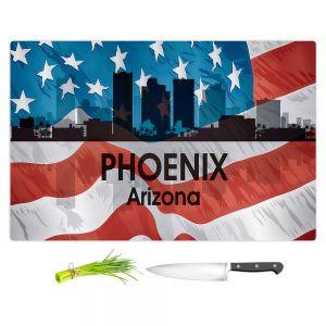 Artistic Kitchen Bar Cutting Boards | Angelina Vick - City VI Phoenix Arizona