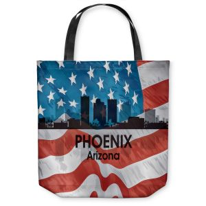 Unique Shoulder Bag Tote Bags |Angelina Vick - City VI Phoenix Arizona