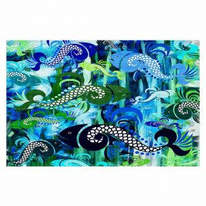 Decorative Floor Coverings | Angelina Vick Plenty of Fish in the Sea I