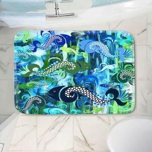 Decorative Bathroom Mats   Angelina Vick - Plenty of Fish in the Sea I